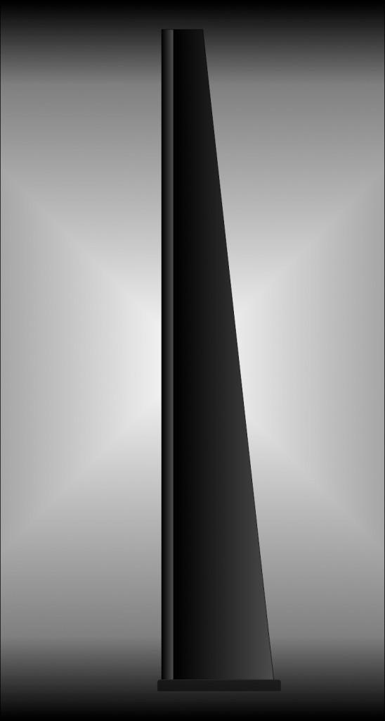 13 LS3 B progetto 12 fountek neo x3 vista laterale con sfondo