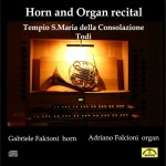 DL033 FALCIONI G. FALCIONI A. - Horn and Organ Recital