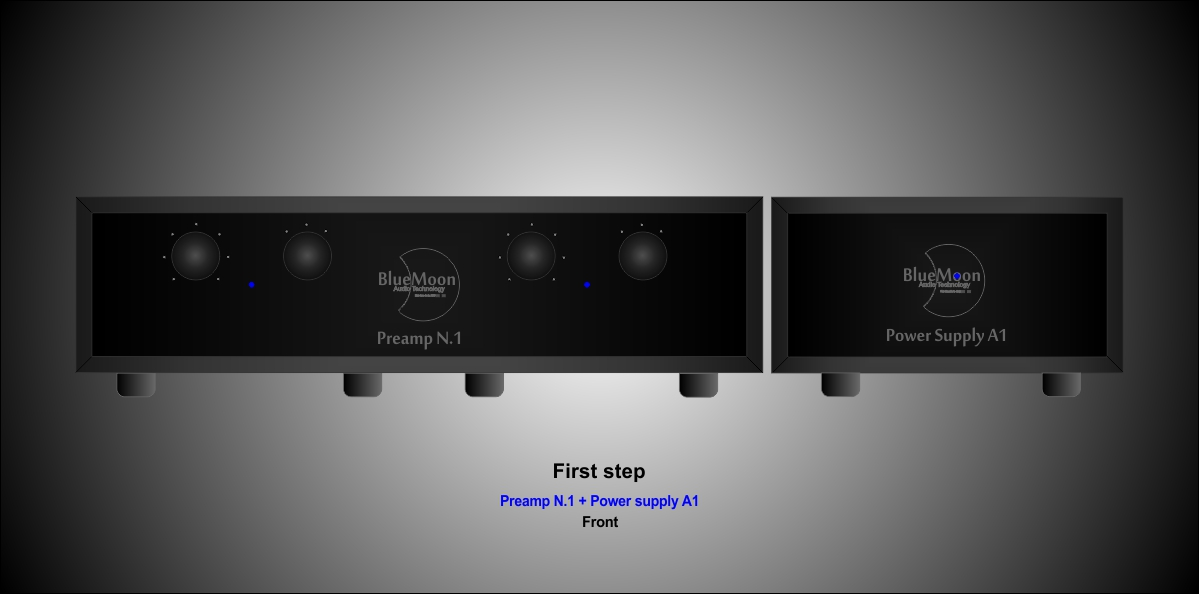 PreAmp N.1 fist step front