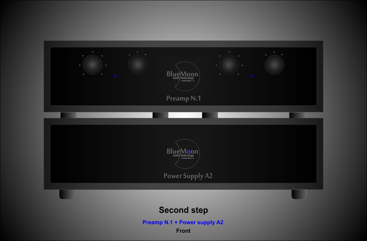PreAmp N.1 second step front