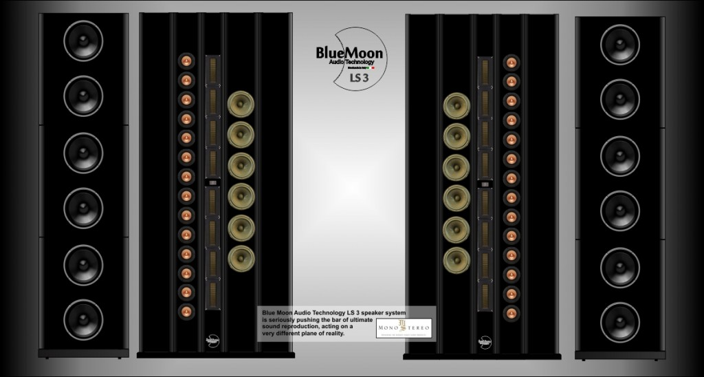 LS3 B progetto fountek Dayton 4  fotomontaggi Mono-Stereo